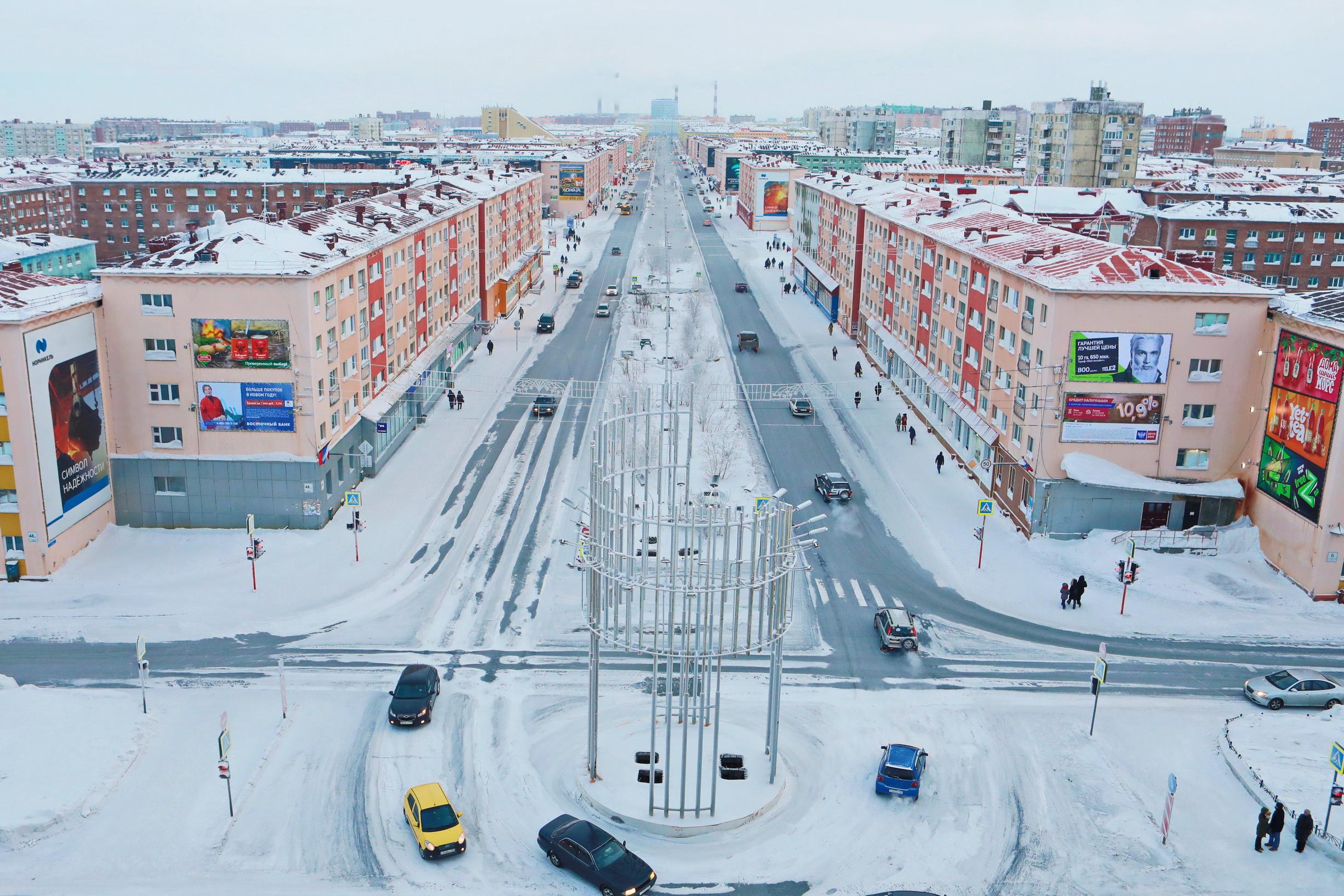 Агентством развития Норильска представлены итоги работы по созданию мастер-плана города