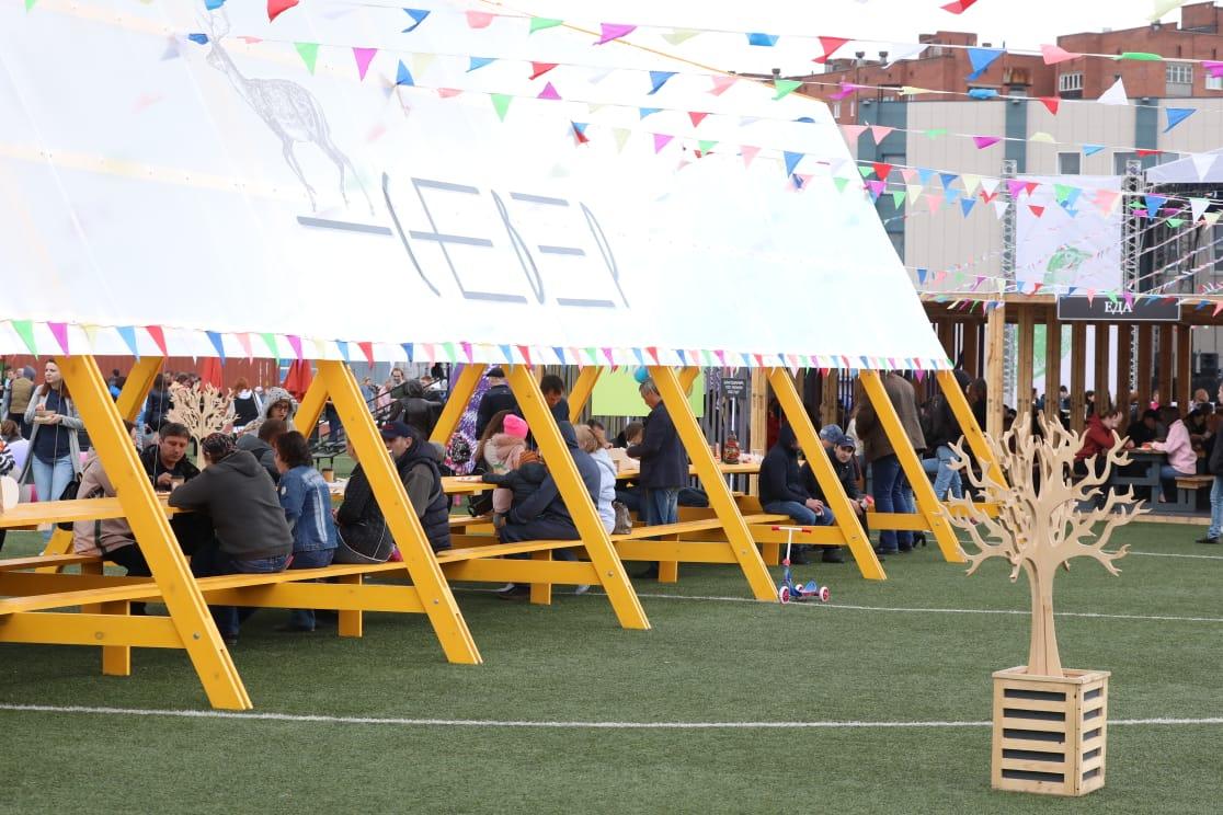 Гастрономический фестиваль «СЕВЕР» прошел в Норильске вкусно, весело и с пользой