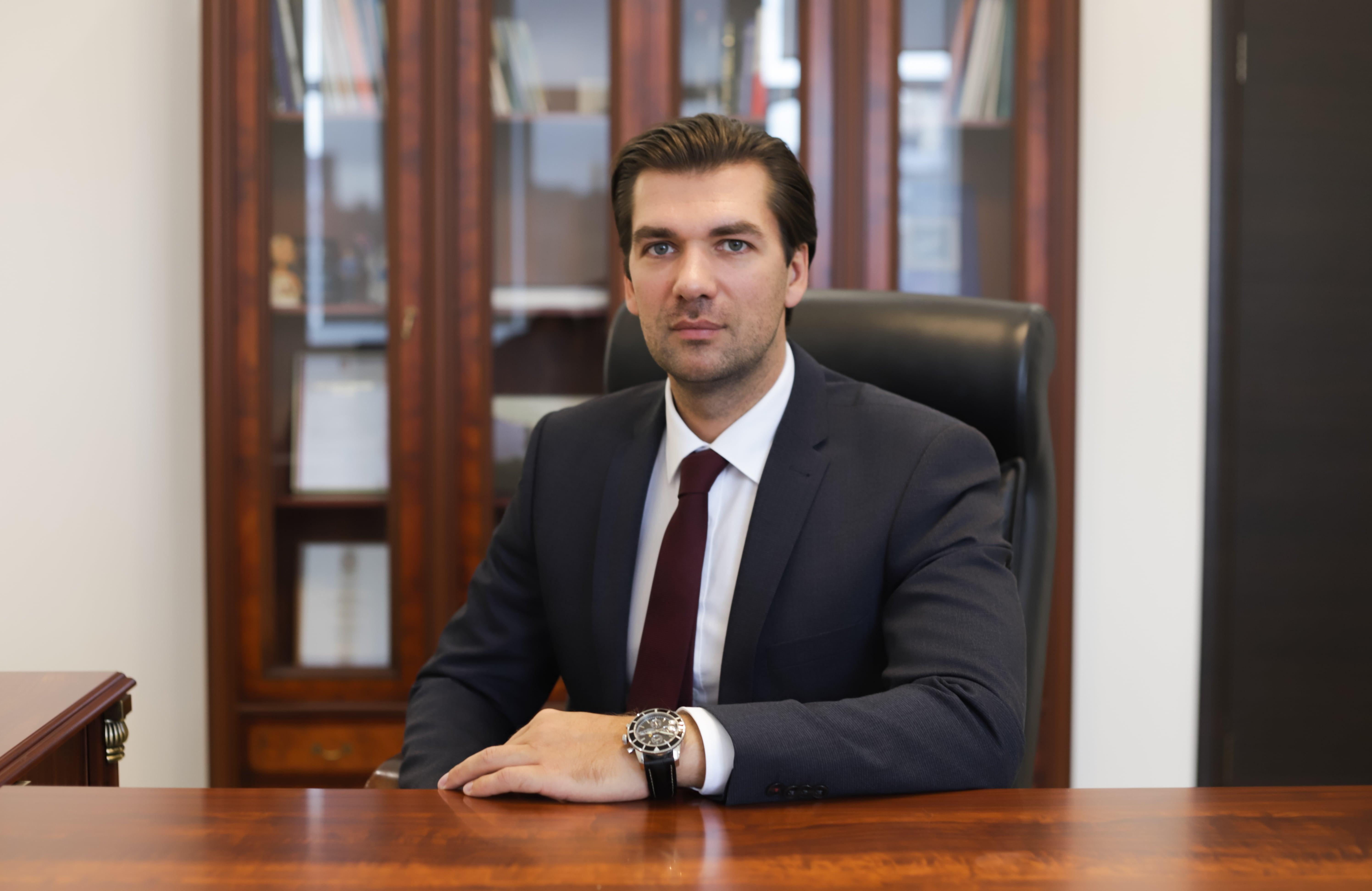 Поздравление директора Агентства развития Норильска Максима Миронова