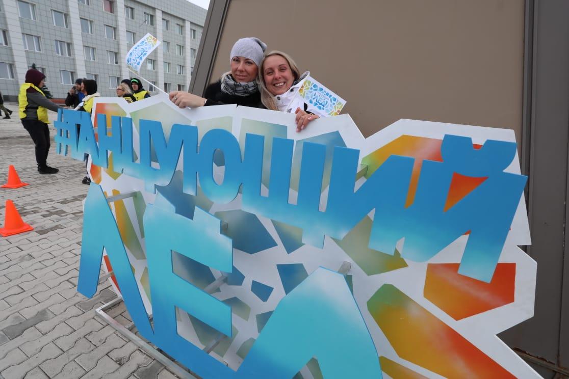 Фестиваль «Танцующий лёд» в Дудинке растопил лёд