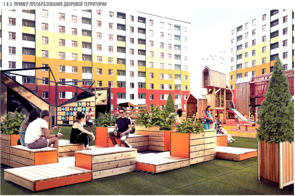 АРН продолжает работу по приоритетным направлениям мастер-плана города. На очереди преображение норильских дворов.