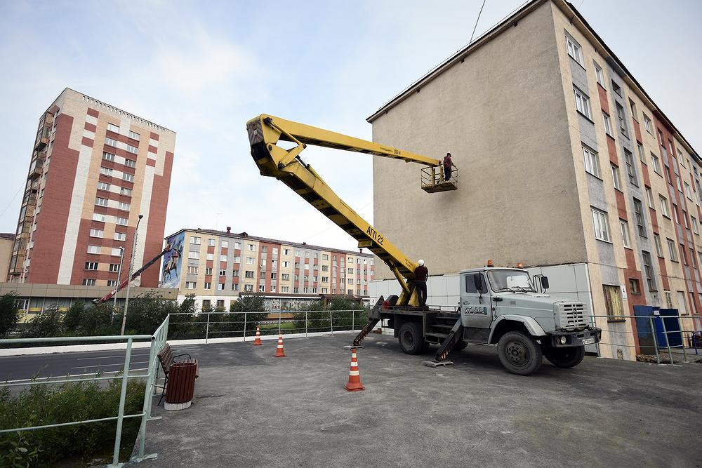 Преображение городских фасадов продолжается