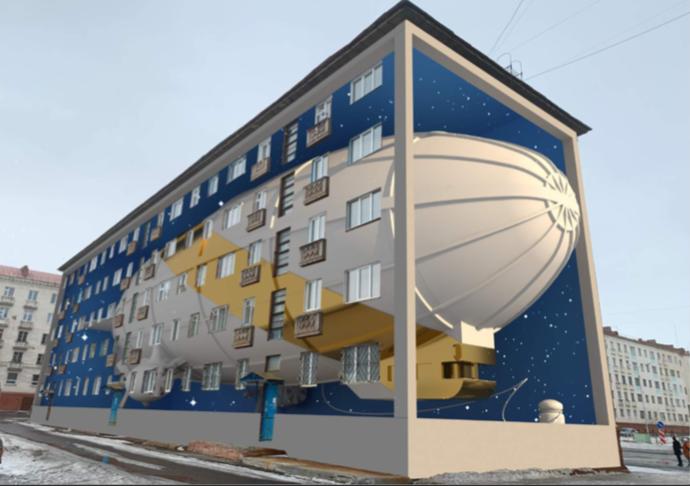 Норильск пополнится новыми арт-фасадами