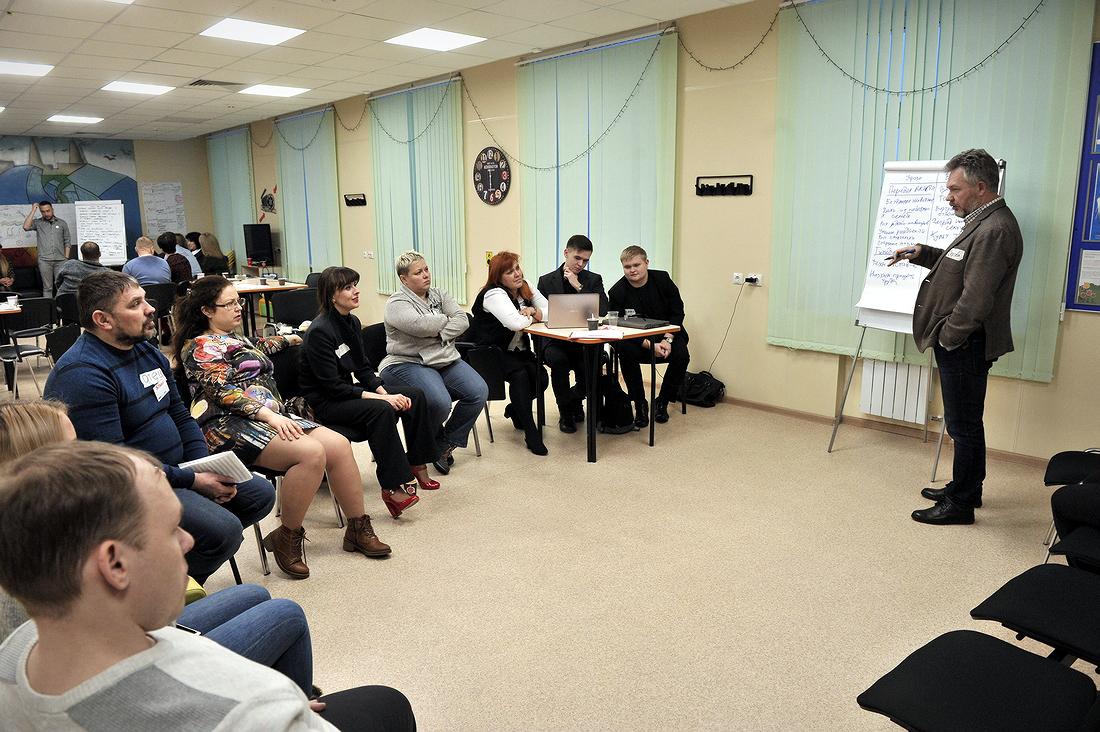 """Деловая игра """"Форсайт предпринимательских возможностей"""" стартовала в Норильске"""