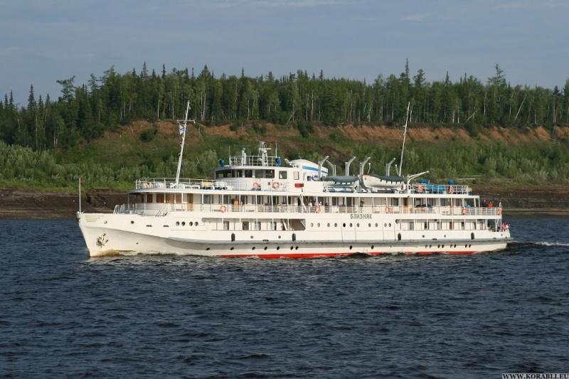Два круизных лайнера построят для туристов Красноярского края