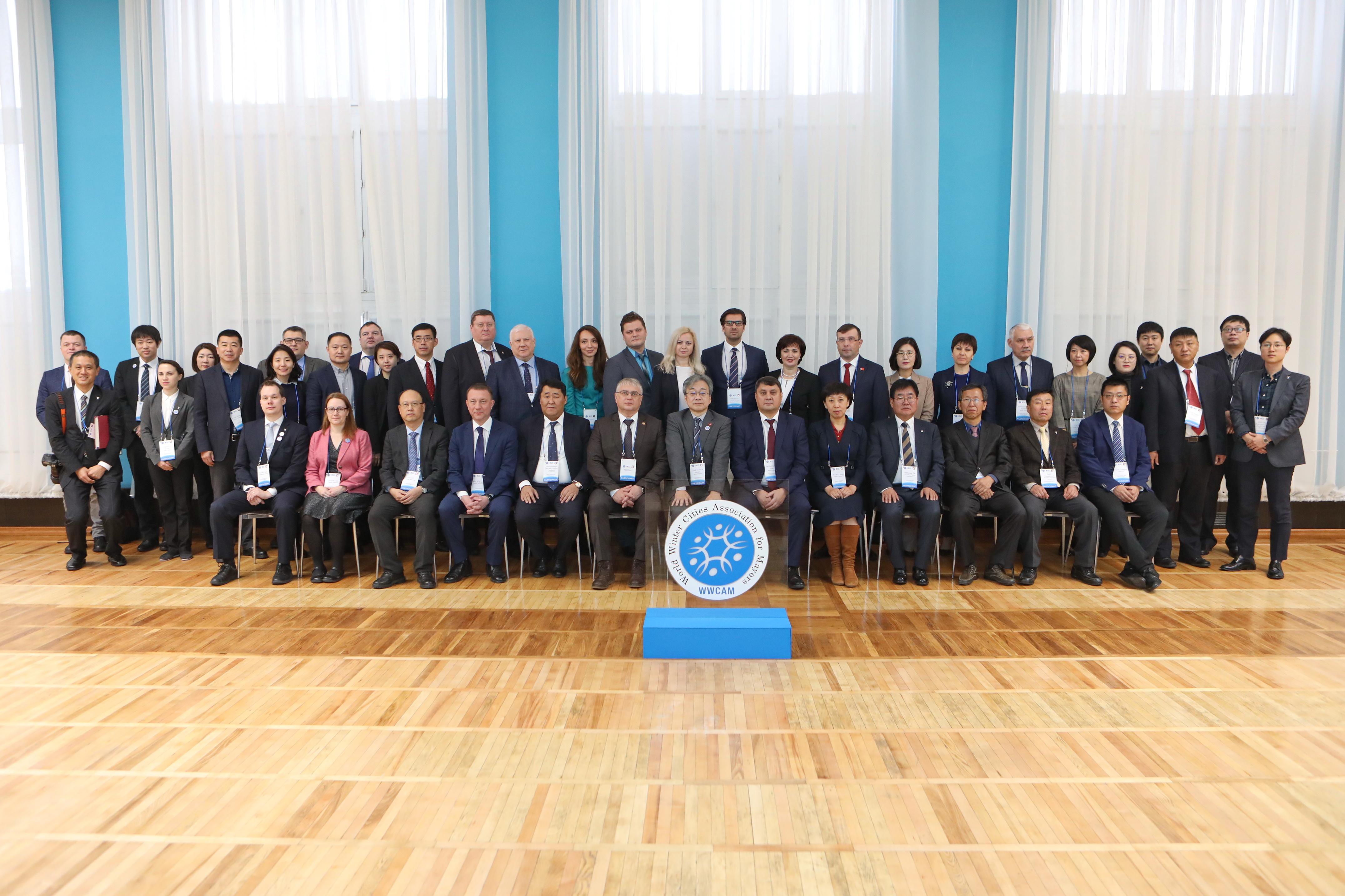 Рабочая встреча Ассоциации мэров зимних городов мира открылась в Норильске