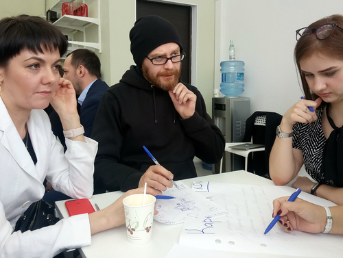 Креативная сессия в АРН